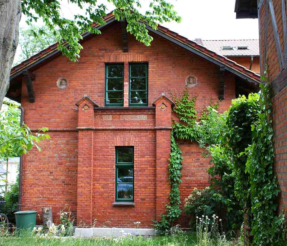 Wirken des architekten und baumeisters ober hofbaurat - Gartenmauer backstein ...