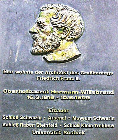 Hermann Willebrand - Gedenktafel